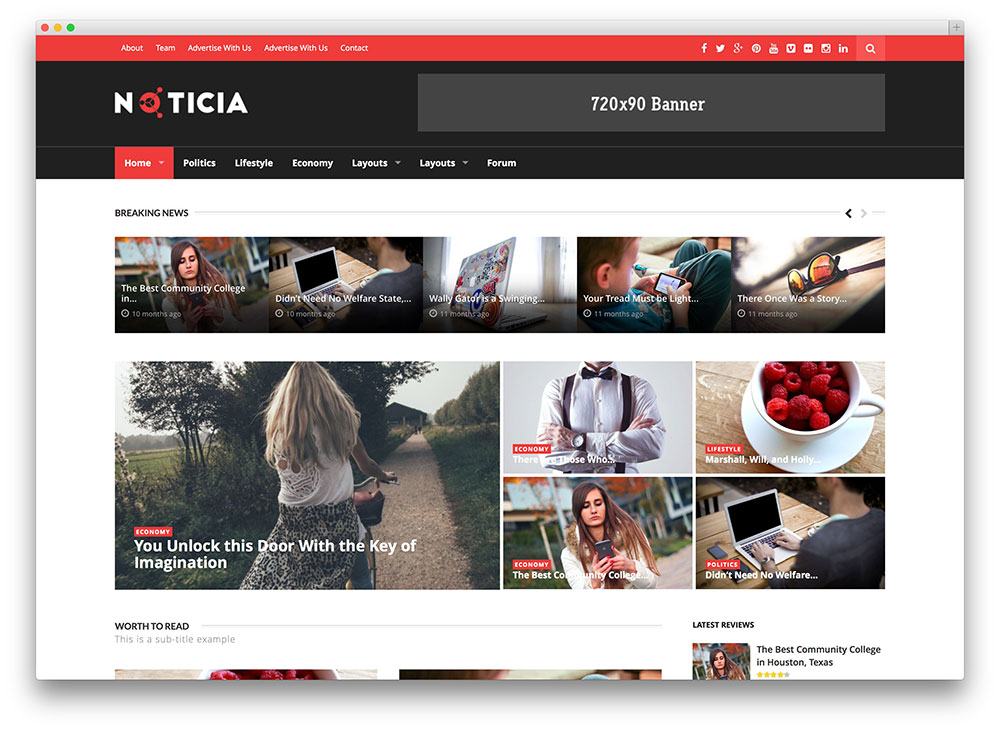 noticia wordpress magazine theme