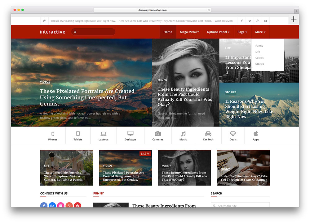 40+ Best News/Magazine Wordpress Themes for 2016