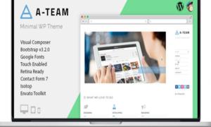 A-TEAM - Minimal Personal Blogging WordPress Theme