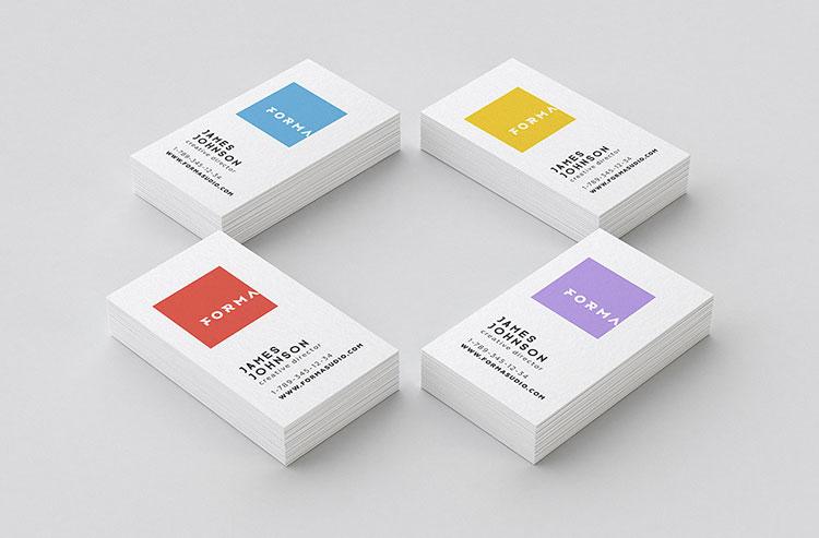 Business Card Mockups Pack