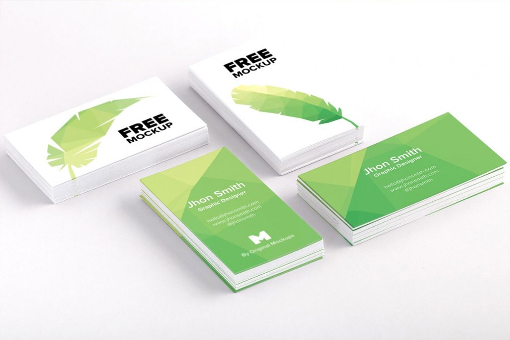 Business Card PSD Mockup