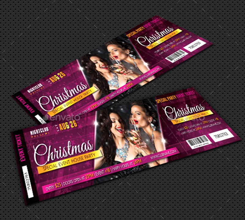 Christmas Party Event Ticket