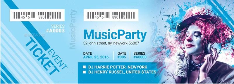 Event Ticket VIP Pass