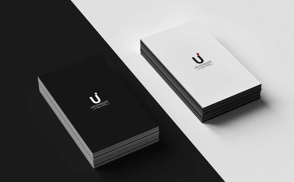 free mockup templates - 25 free vertical business card mockups psd templates