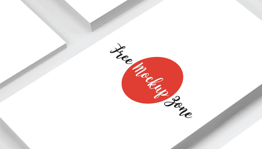 Free Prime Business Card Mockup PSD