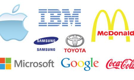 famous brands vector designs