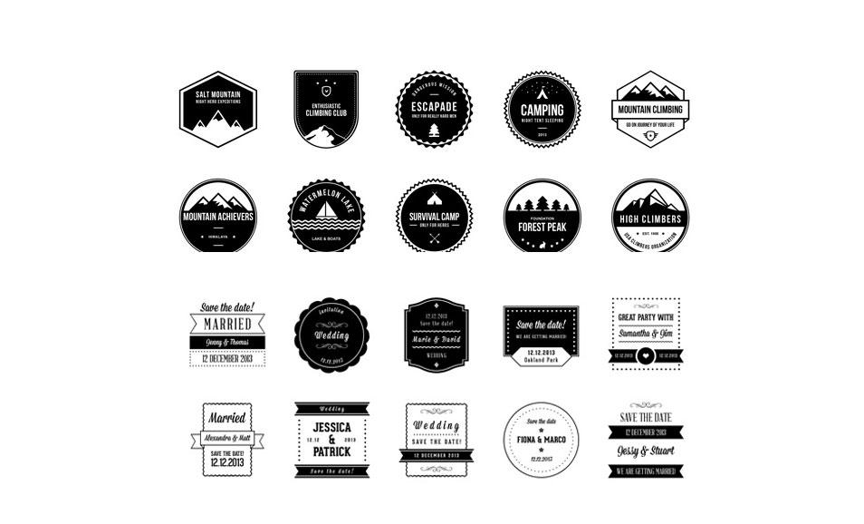 20 Free Badges