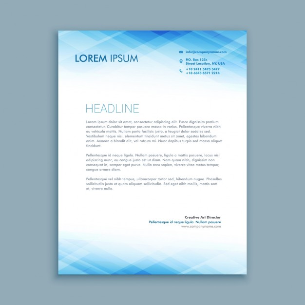 30 Best Free Letterhead Design Mockup Vector and PSD Templates – Letterhead Templates Download