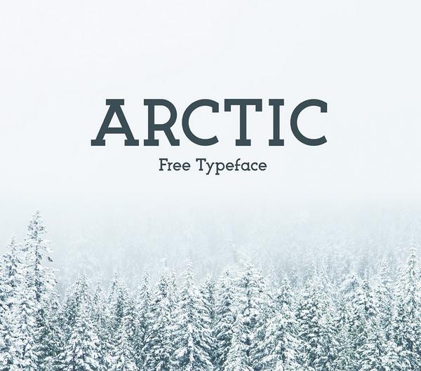 Arctic Free Font