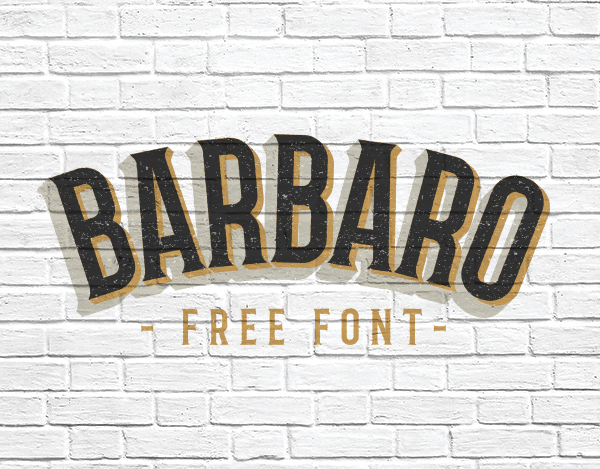 Barbaro Free Fonts