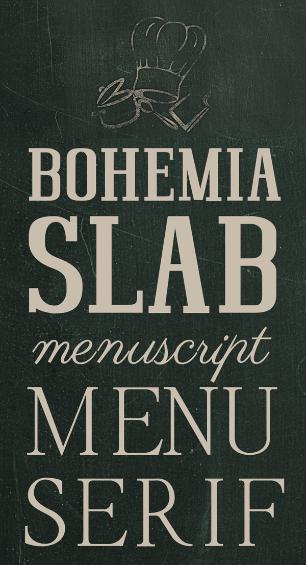 Bohemia SlabSerif Free Font