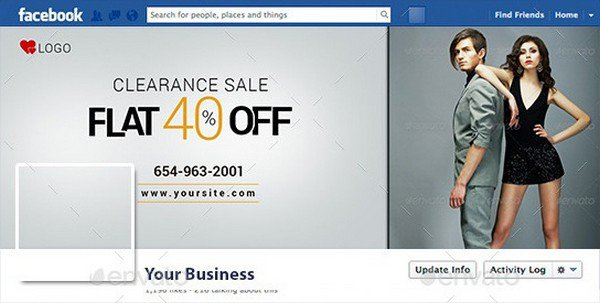 Clearance Sale Facebook Cover