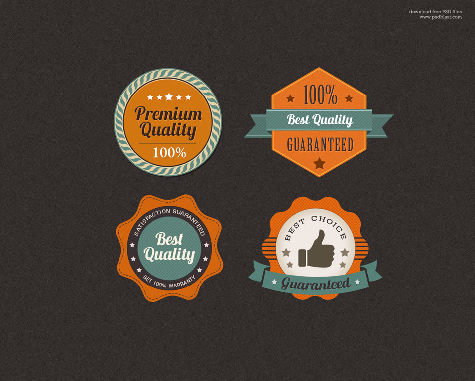 Free Premium Quality Web Badge