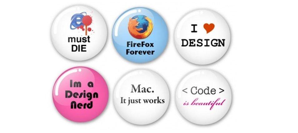 Humorous Vector Badges