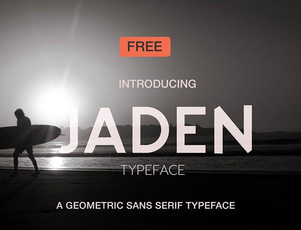Jaden Free Fonts