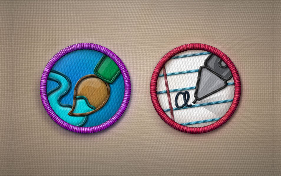 Merit Badges PSD – Part 2