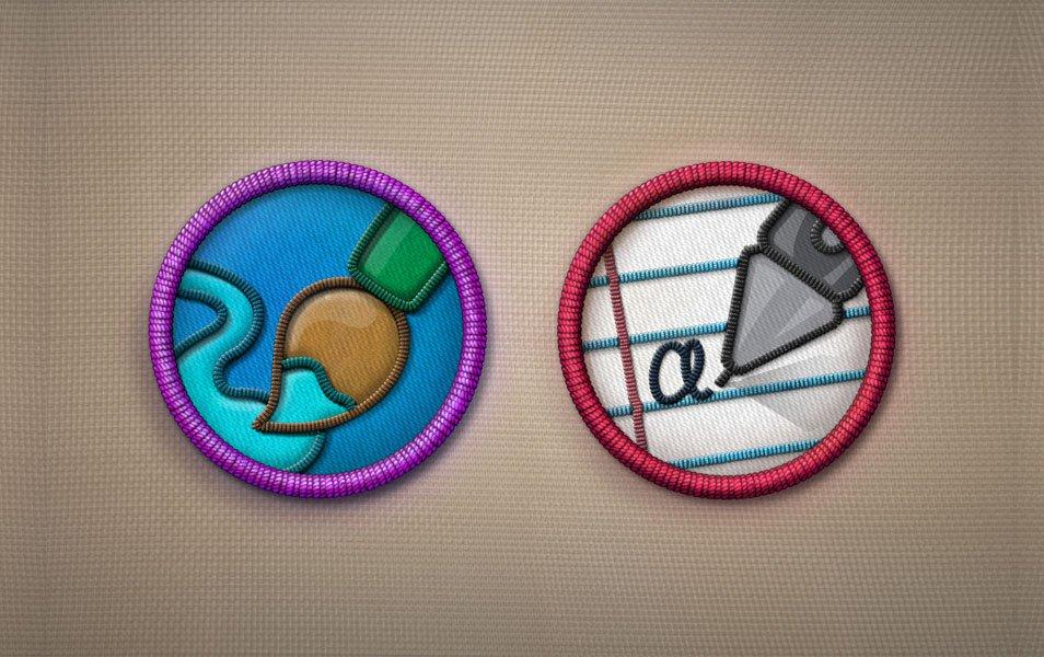 Merit Badges PSD – Part 2