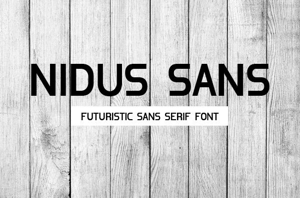 Nidus Sans Free Font