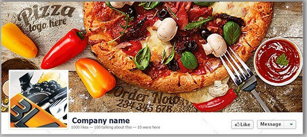 Pizza Facebook Cover