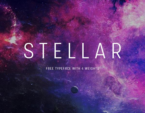 Stellar Free Font