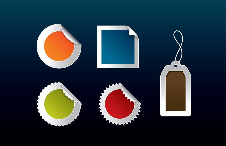 Web 2.0 Vector Badges