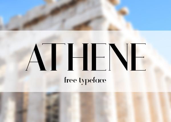Athene Free Font 1