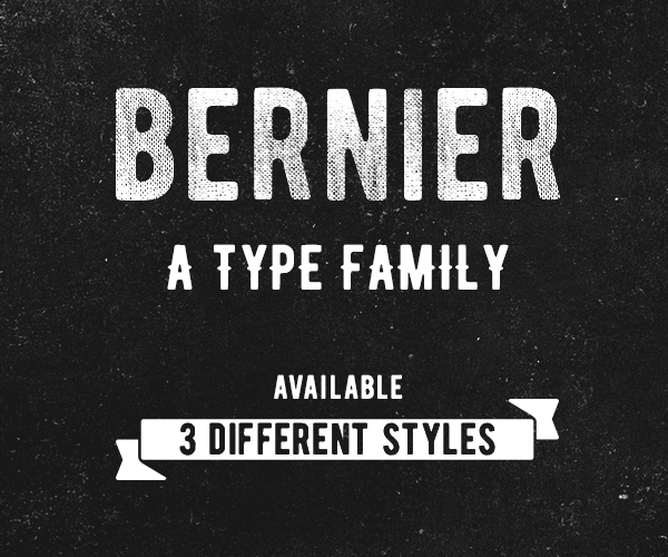 BERNIER Free Font