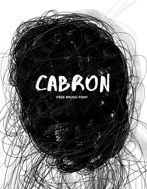 Cabron Free Font