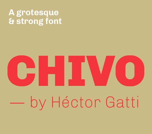 Chivo Free Font
