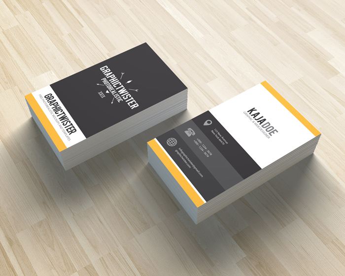 Color Business Card PSD