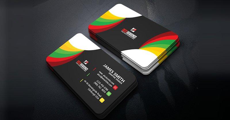 Corporate Business Card PSD