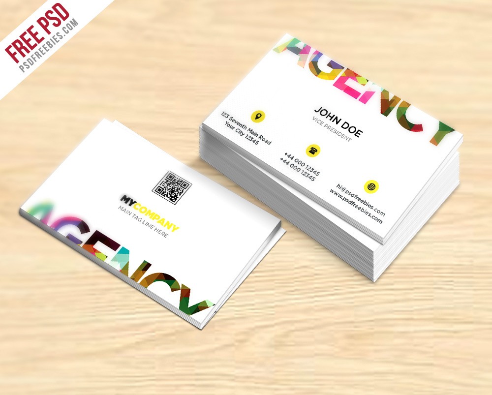 Creative Business Card Template PSD