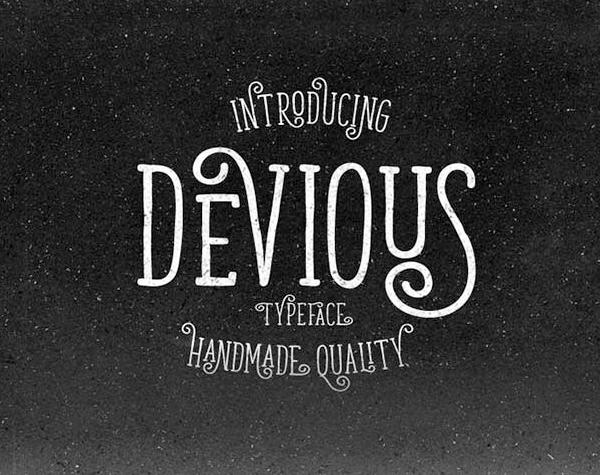 Devious Free Font