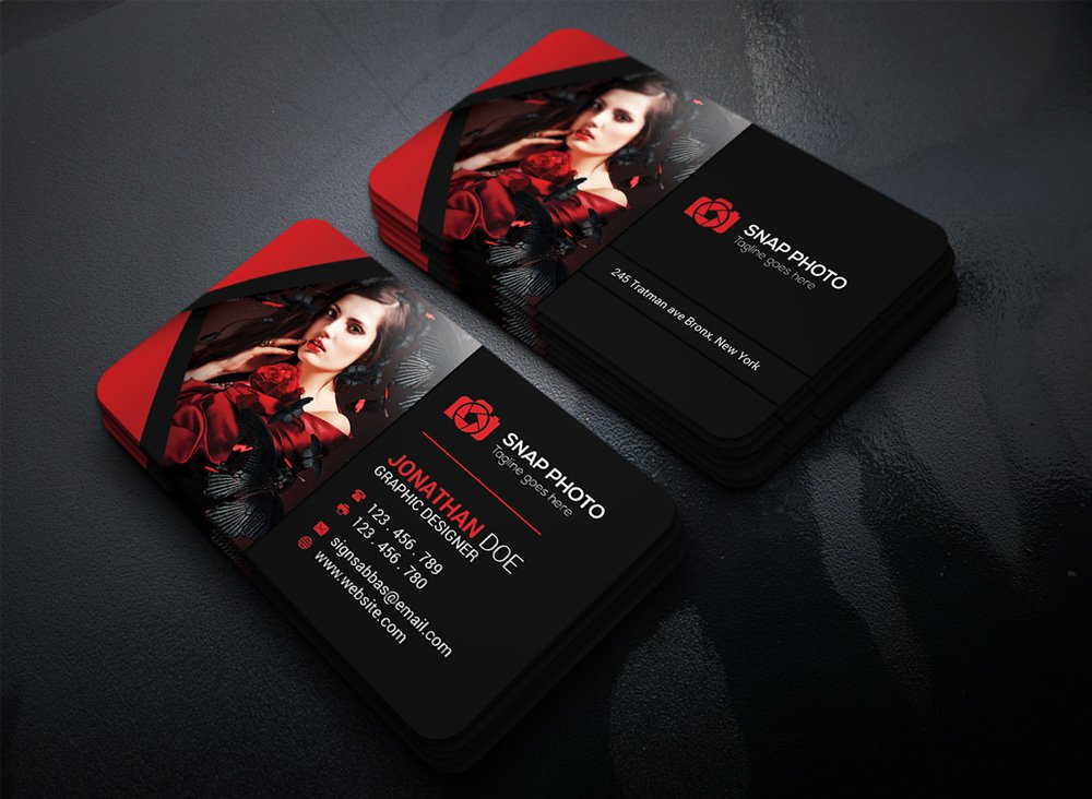 Free Business Card PSD 3