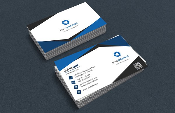 300 best free business card psd and vector templates free business card template psd 2 flashek Images