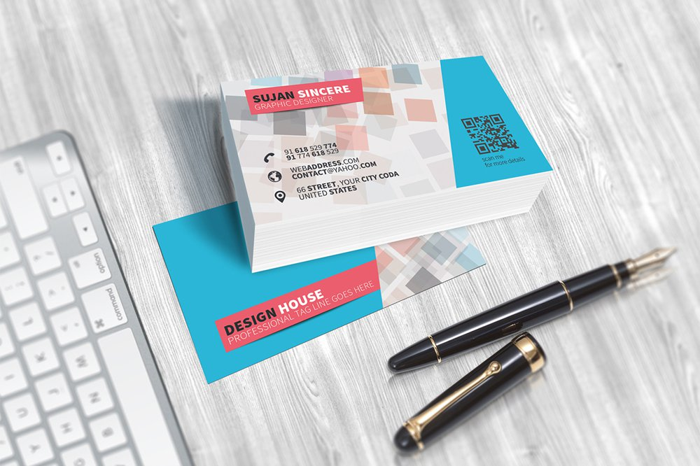 300 best free business card psd and vector templates free colorful business card template psd fbccfo