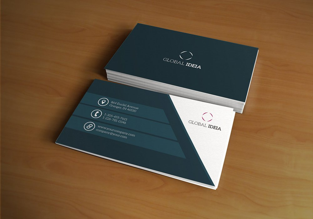 Free Corporate Business Card PSD 2
