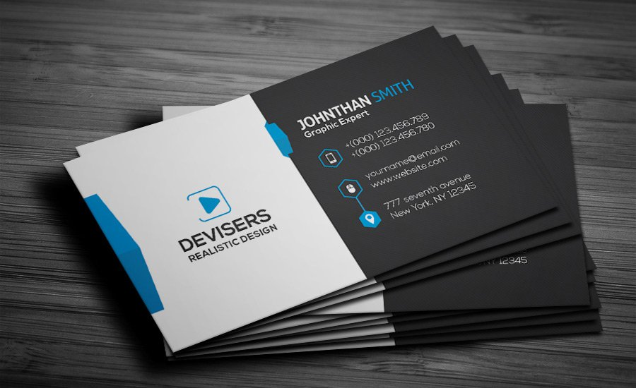 300 best free business card psd and vector templates free corporate business card psd fbccfo Choice Image