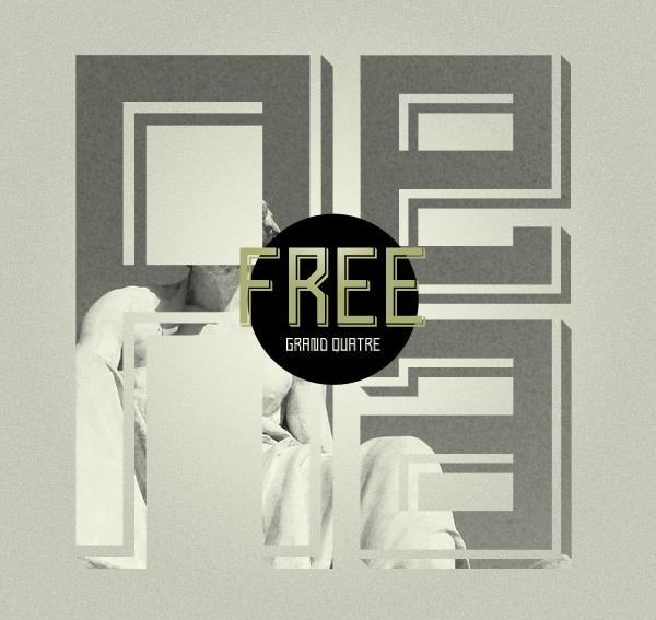 Grand Quatre Free Font