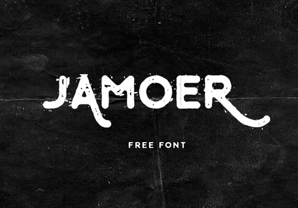 Jamoer Free Font