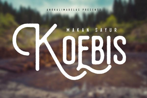 Koebis Free Font