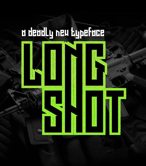 Long Shot Free Font