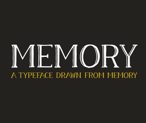 Memory Free Font