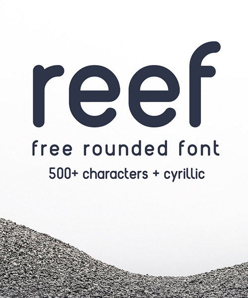 Reef Rounded Free Font