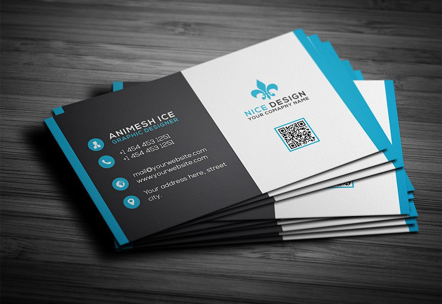 300 best free business card psd and vector templates for Business cards psd templates