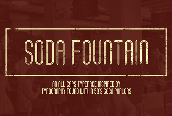 Soda Fountain Free Fonts