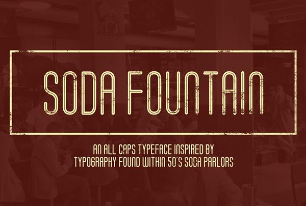 Soda Fountain Free Fonts