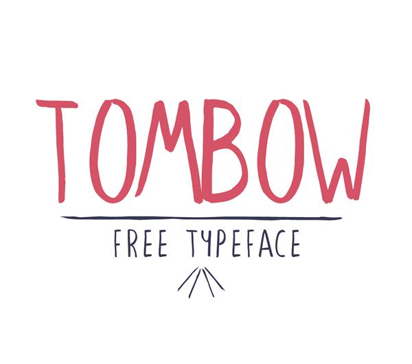 Tombow Free Font