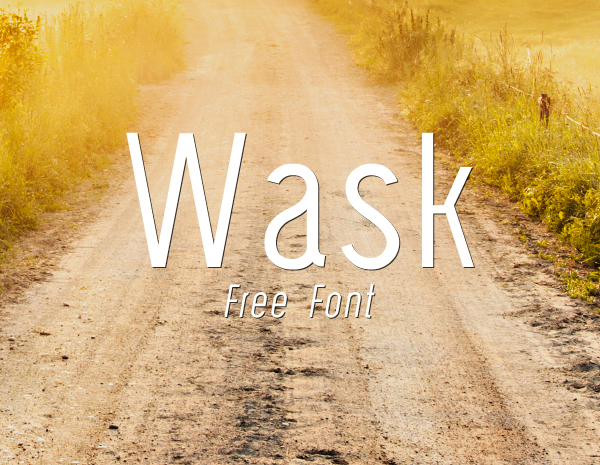 Wask Free Font