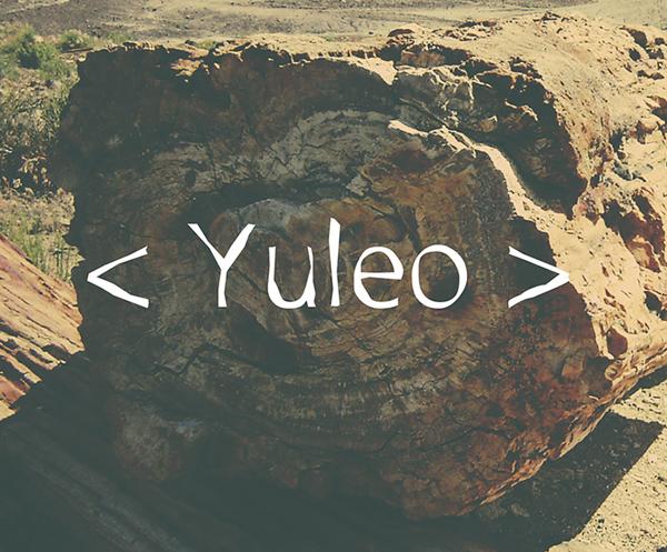 Yuleo Free Fonts